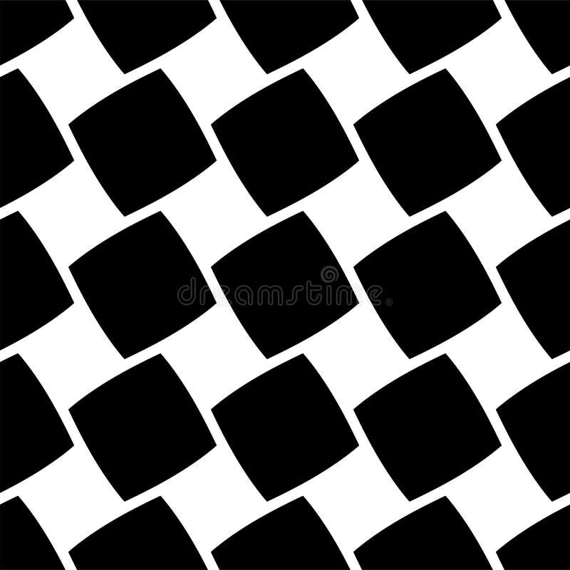 Conjunto de patrones repetibles. Repetir de forma transparente a un borde. Uso básico pero universal stock de ilustración