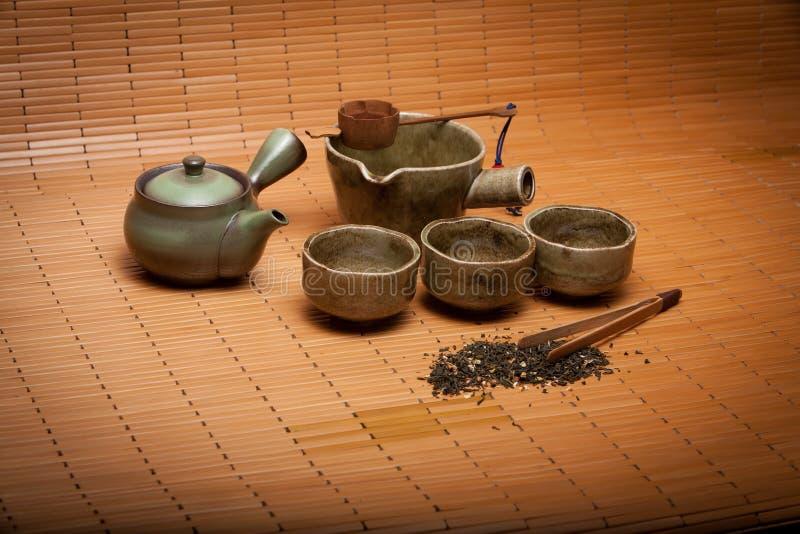 Conjunto de té fotografía de archivo libre de regalías