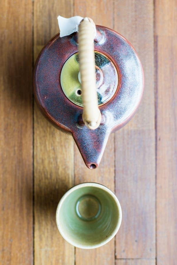 Download Conjunto de té asiático imagen de archivo. Imagen de cristal - 42438405