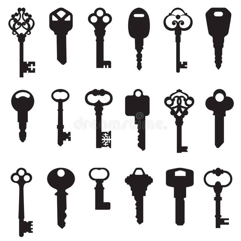 Conjunto del clave libre illustration