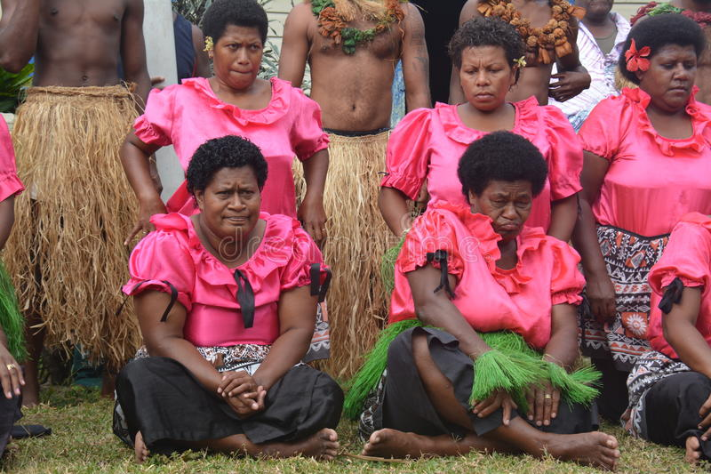 Conjunto del Fijian imagenes de archivo
