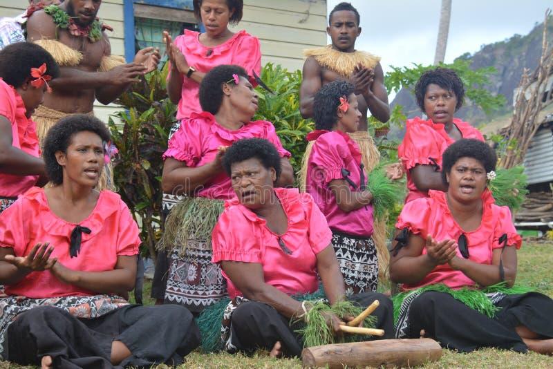 Conjunto del Fijian foto de archivo