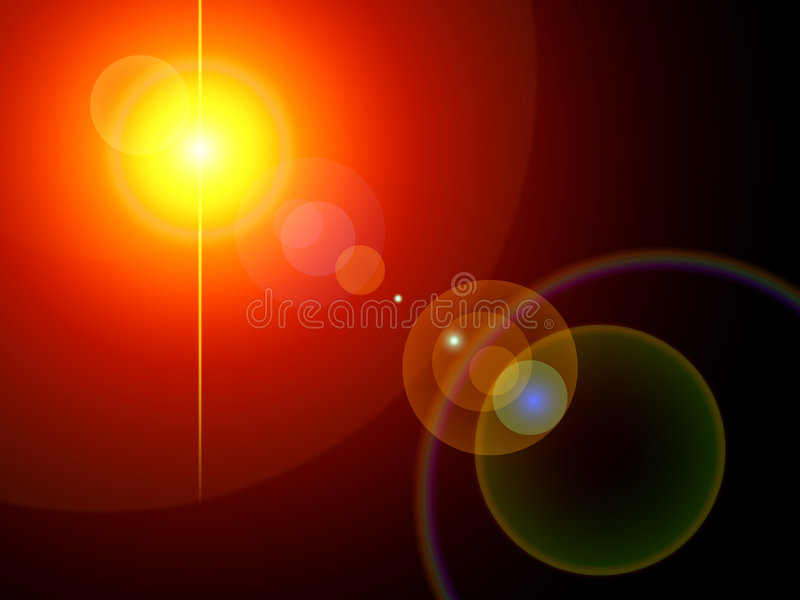 Conjunto del fondo de las luces libre illustration