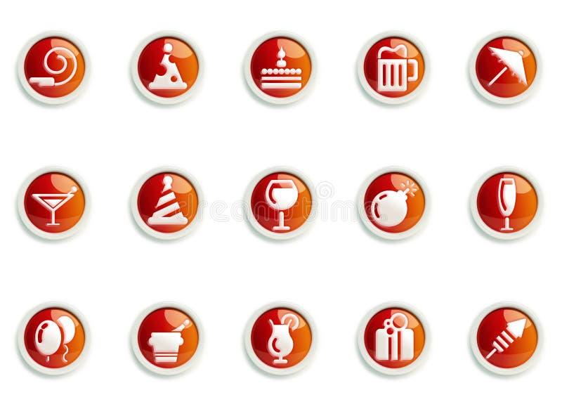 Conjunto del icono libre illustration