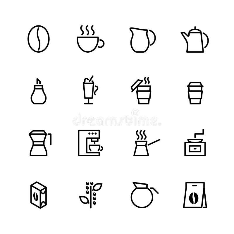 Conjunto del icono de la comida libre illustration