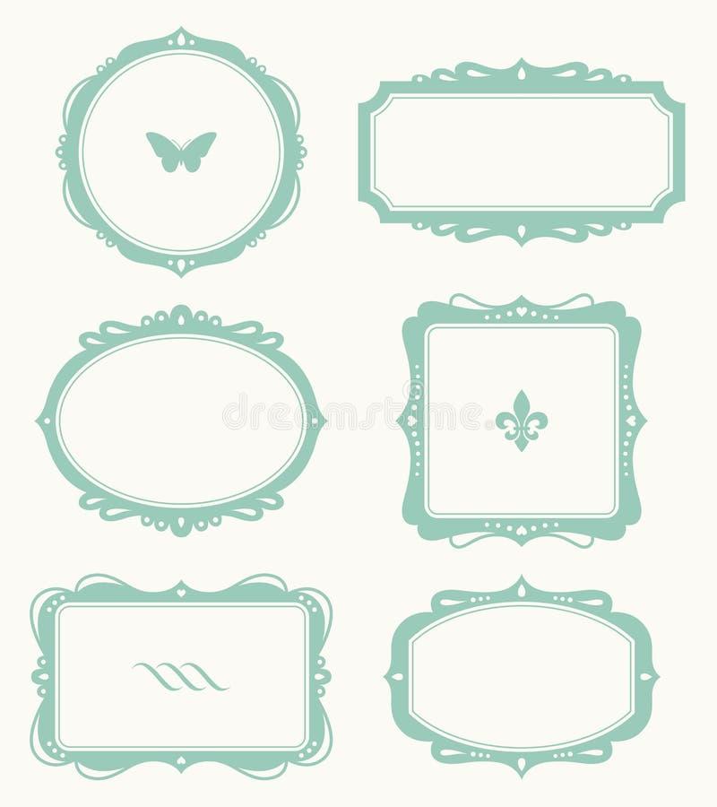 Conjunto del marco stock de ilustración