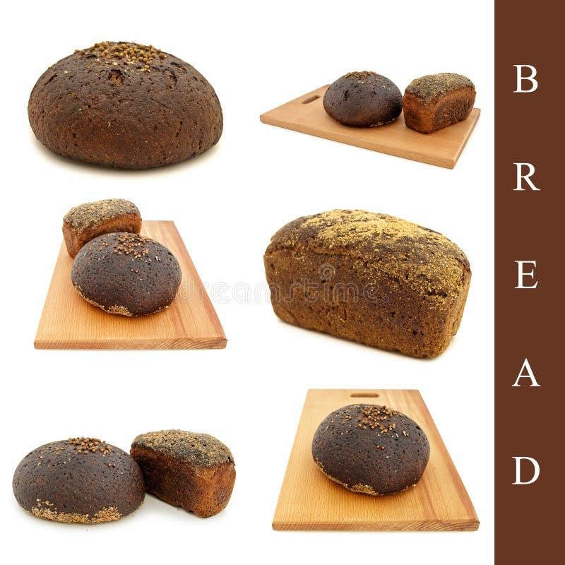 Conjunto del pan imágenes de archivo libres de regalías