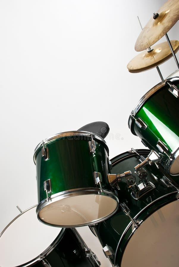 Conjunto del tambor fotografía de archivo libre de regalías