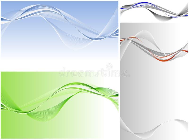 Conjunto del vector ilustración del vector
