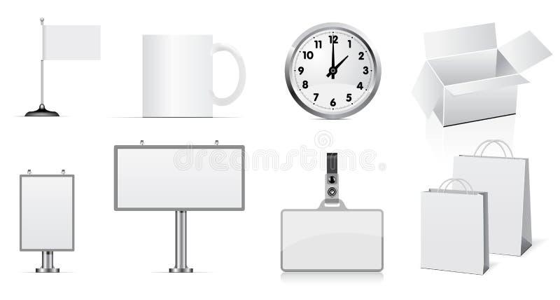 Conjunto del vector de elementos del diseño libre illustration