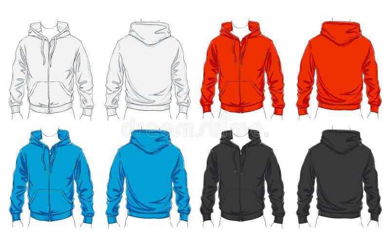 Conjunto del vector de ropa libre illustration