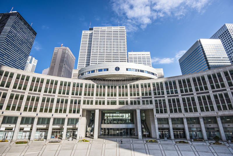 Conjunto do metropolita do Tóquio fotografia de stock royalty free