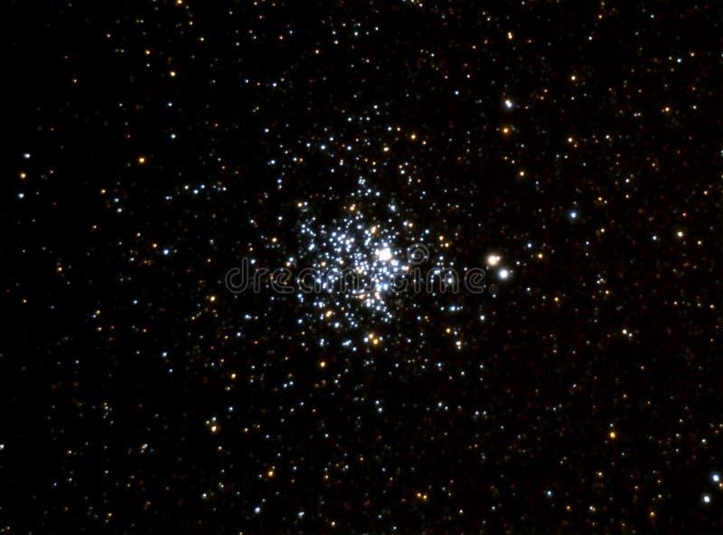 Conjunto estelar M11 imagem de stock