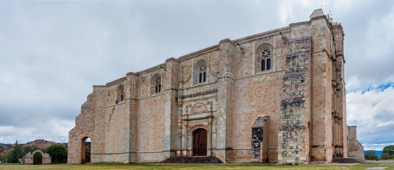 Conjunto Kloosterde Santo Domingo Yanhuitlan mexico royalty-vrije stock fotografie