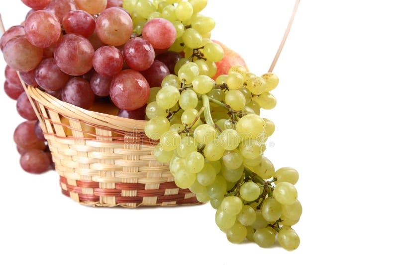 Conjuntos das uvas. foto de stock royalty free