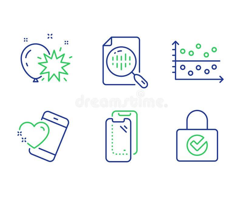 Conjuntos de iconos de dardos en globo inteligente, trama de puntos y globo Signos de cifrado de contraseña, gráficos de análisis libre illustration