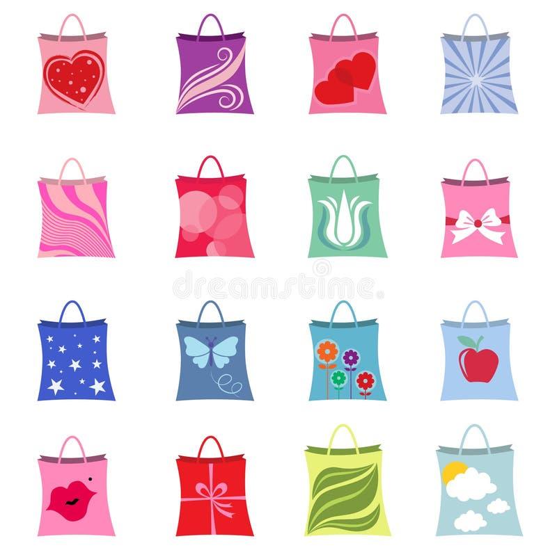 Conjuntos de las compras   libre illustration