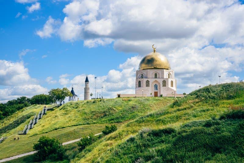 Conmemorativo firme adentro Bolgar, Rusia imagen de archivo libre de regalías
