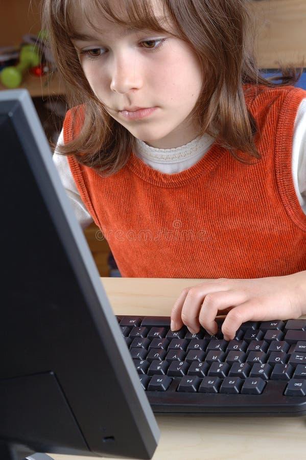 Connaissances en informatique image stock