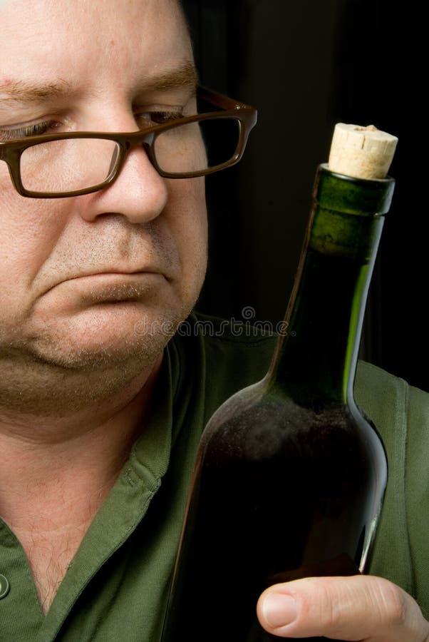 Connaisseur de vin photos stock