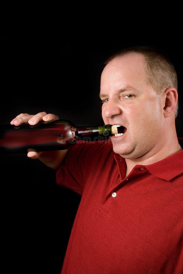 Connaisseur de vin photo stock