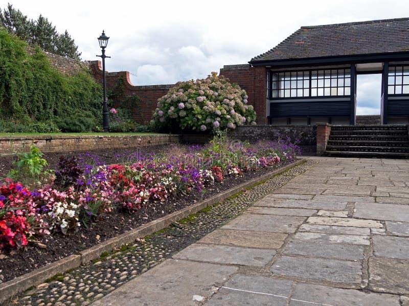 Connaught κήποι, Sidmouth, Ντέβον, Αγγλία στοκ εικόνα με δικαίωμα ελεύθερης χρήσης
