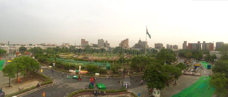 Connaught Place, New Delhi - Panorama stock fotografie