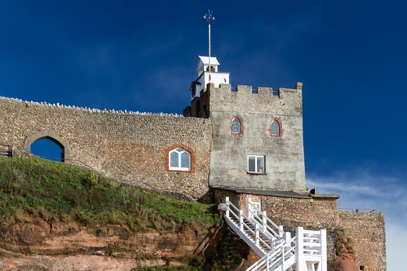 Connaught trädgårdar Sidmouth Devon fotografering för bildbyråer