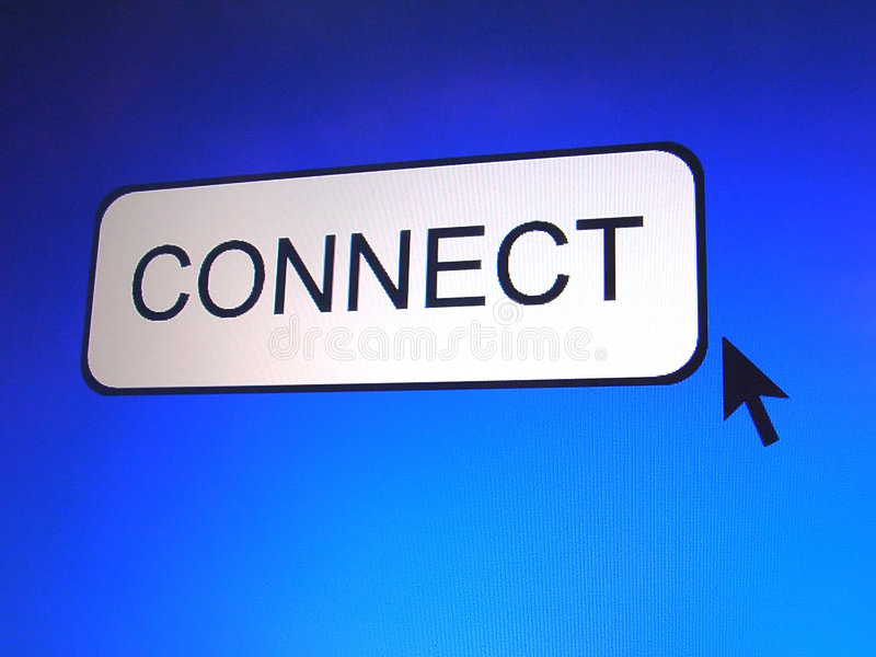 Download Connect Button Stock Photo - Image: 295200