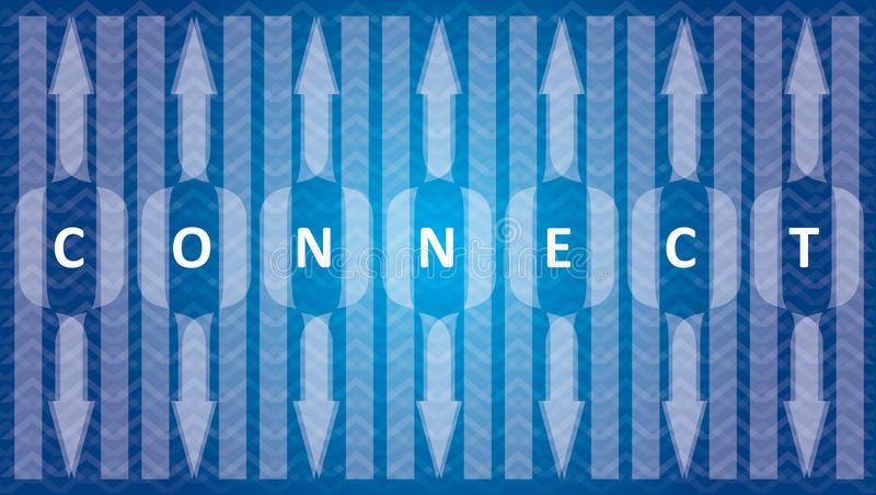 Connect, communication template vector illustration