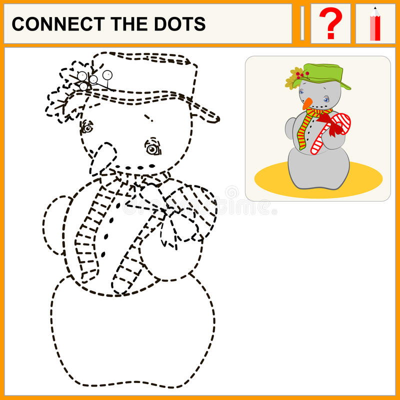 0116_25 connect the dots vector illustration