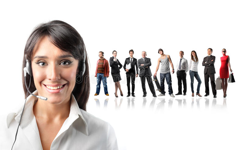 Download Connect with people stock image. Image of happy, exchange - 12964597
