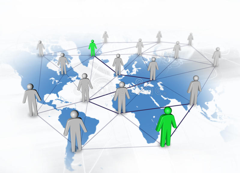 Connect People Stock Photos