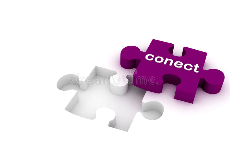 Download Connect Puzzle Royalty Free Stock Photos - Image: 15769778