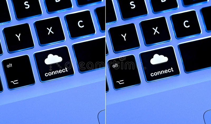 Download Connect to cloud stock image. Image of button, blue, save - 22333889