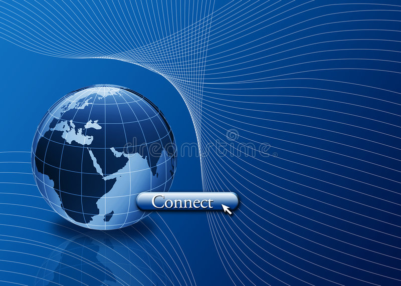 Download Connect To The World, Internet Concept Stock Illustration - Image: 4816570