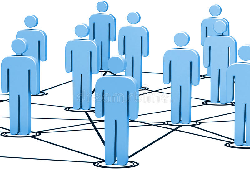 Download Connected people stock illustration. Image of connection - 16310565