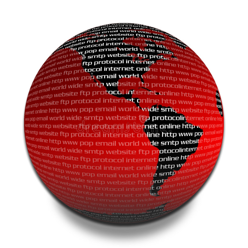 Download Connected planet stock illustration. Image of sphere, smtp - 86387