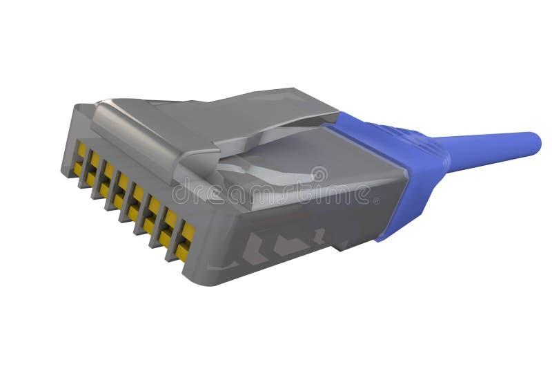 connecteur image stock