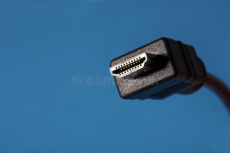 Connecteur de HDMI image stock