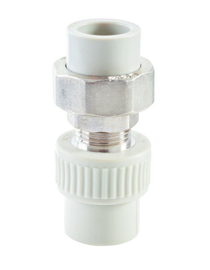 Download Connecteur De Tuyau D'isolement Sur Le Blanc Photo stock - Image du tuyauterie, industrie: 45363232
