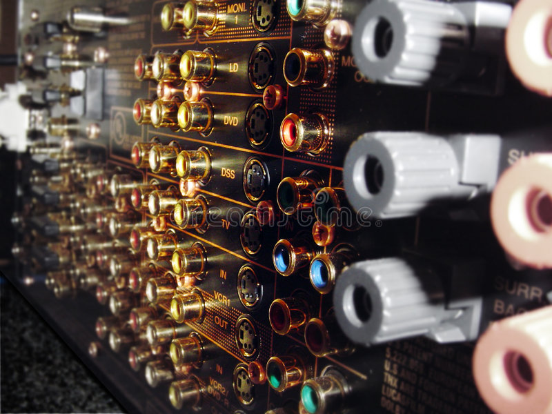 Connecteurs photos stock