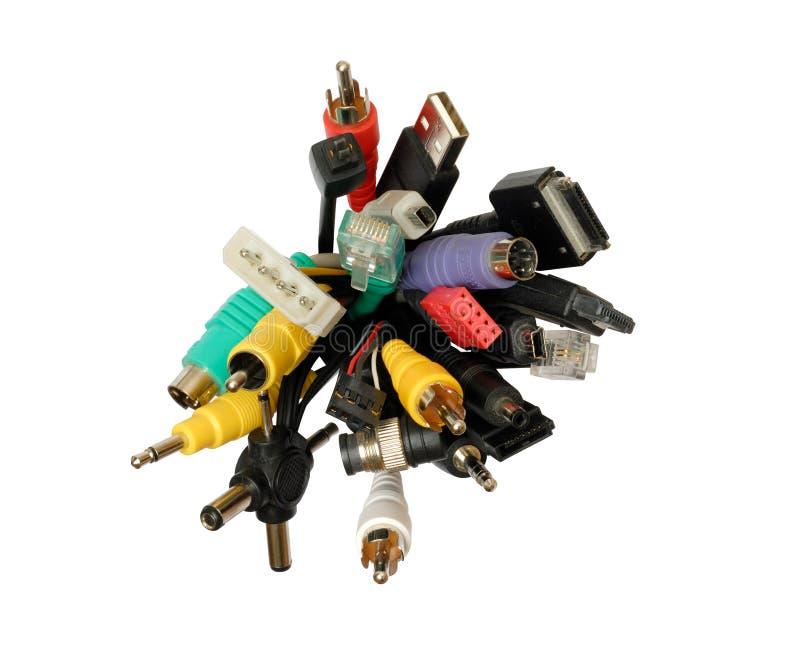 Connecteurs Photo stock
