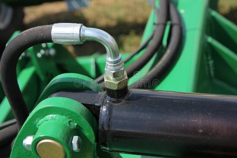 Connecteurs hydrauliques photographie stock libre de droits