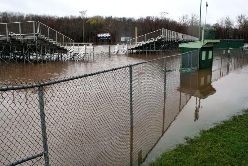 Connecticut-Überschwemmung stockbilder