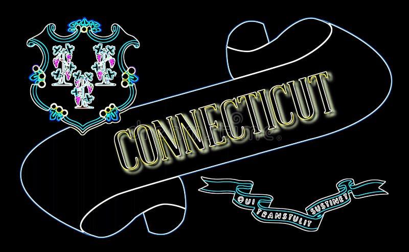 Connecticut ślimacznica royalty ilustracja
