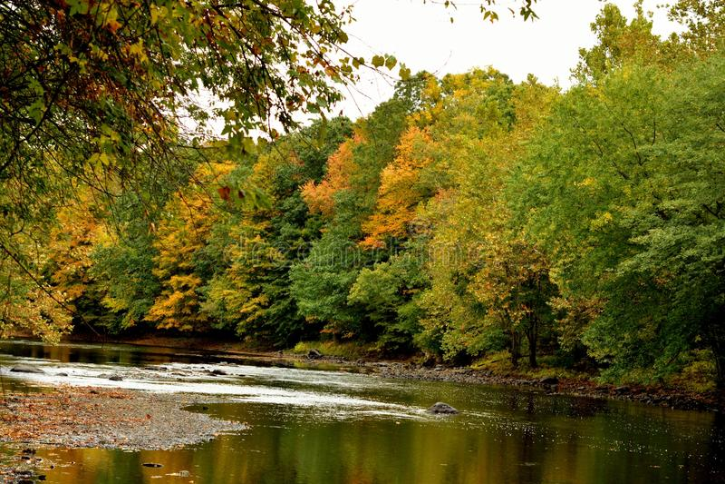 Connecticut-Herbst lizenzfreie stockfotografie