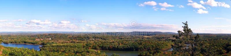 Connecticut-Panorama stockfotos