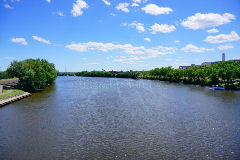 Connecticut River lizenzfreie stockbilder