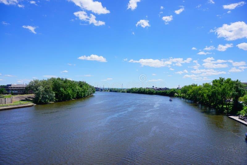 Connecticut River stockfoto